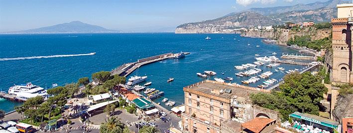Overlooking Marina Grande, Sorrento, Italy
