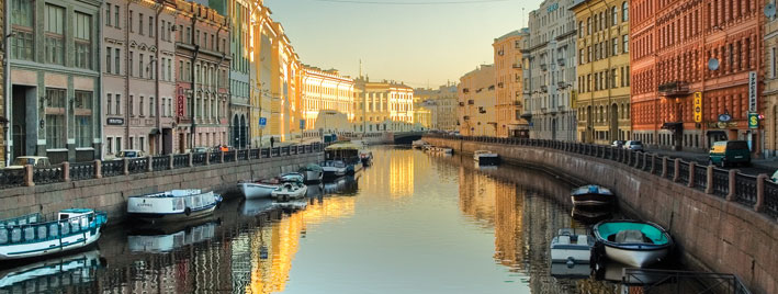 View of Saint Petersburg by Sergei Butorin