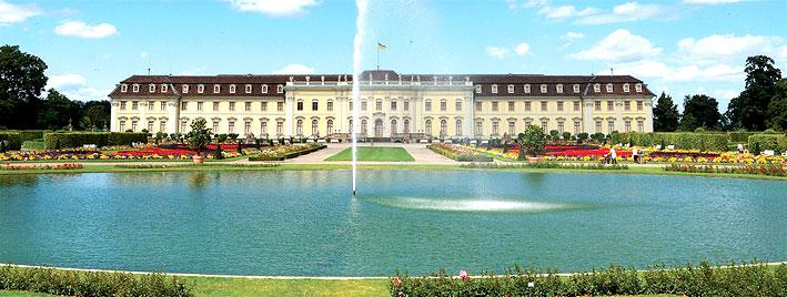 Ludwigsburg Residential Palace near Stuttgart