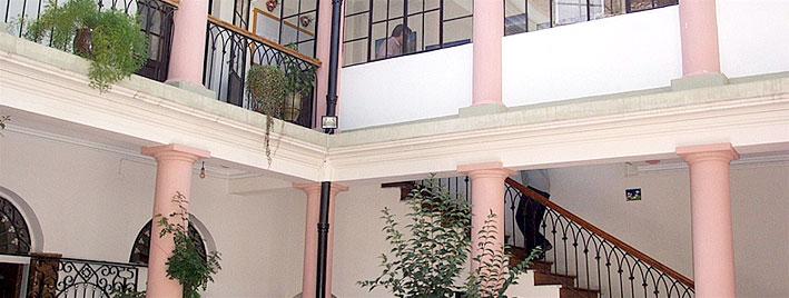 Spanish school in Sucre, Bolivia