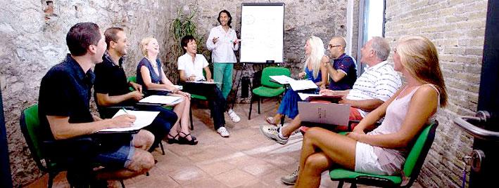 Learning Italian in Taormina