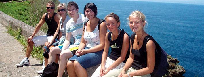 Spanish class in Tenerife