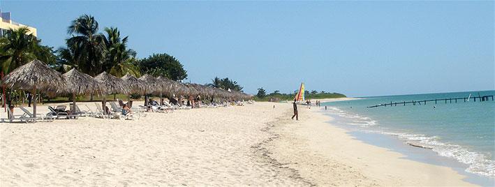 Beach in Trinidad, Cuba