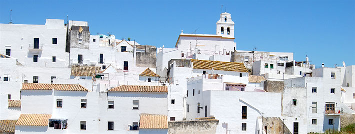 White buildings of Vejer de la Frontera, Spain
