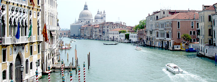 Famous view of Venice, Italy