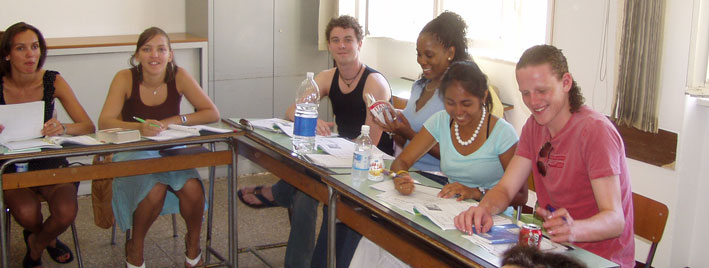 Italian class in Viareggio