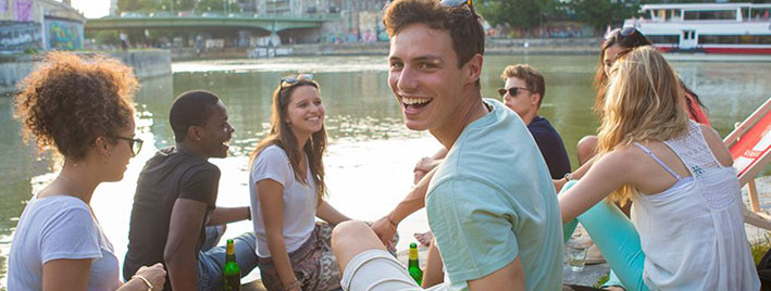 Making friends on a German course in Vienna