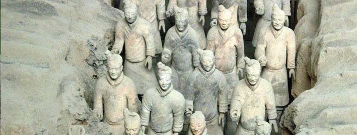 Terracotta Army near Xi'an, China